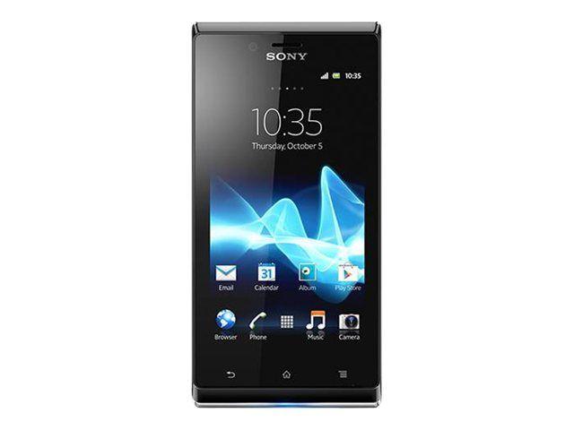 Téléphone mobile Sony Sony XPERIA J 4 Go Noir
