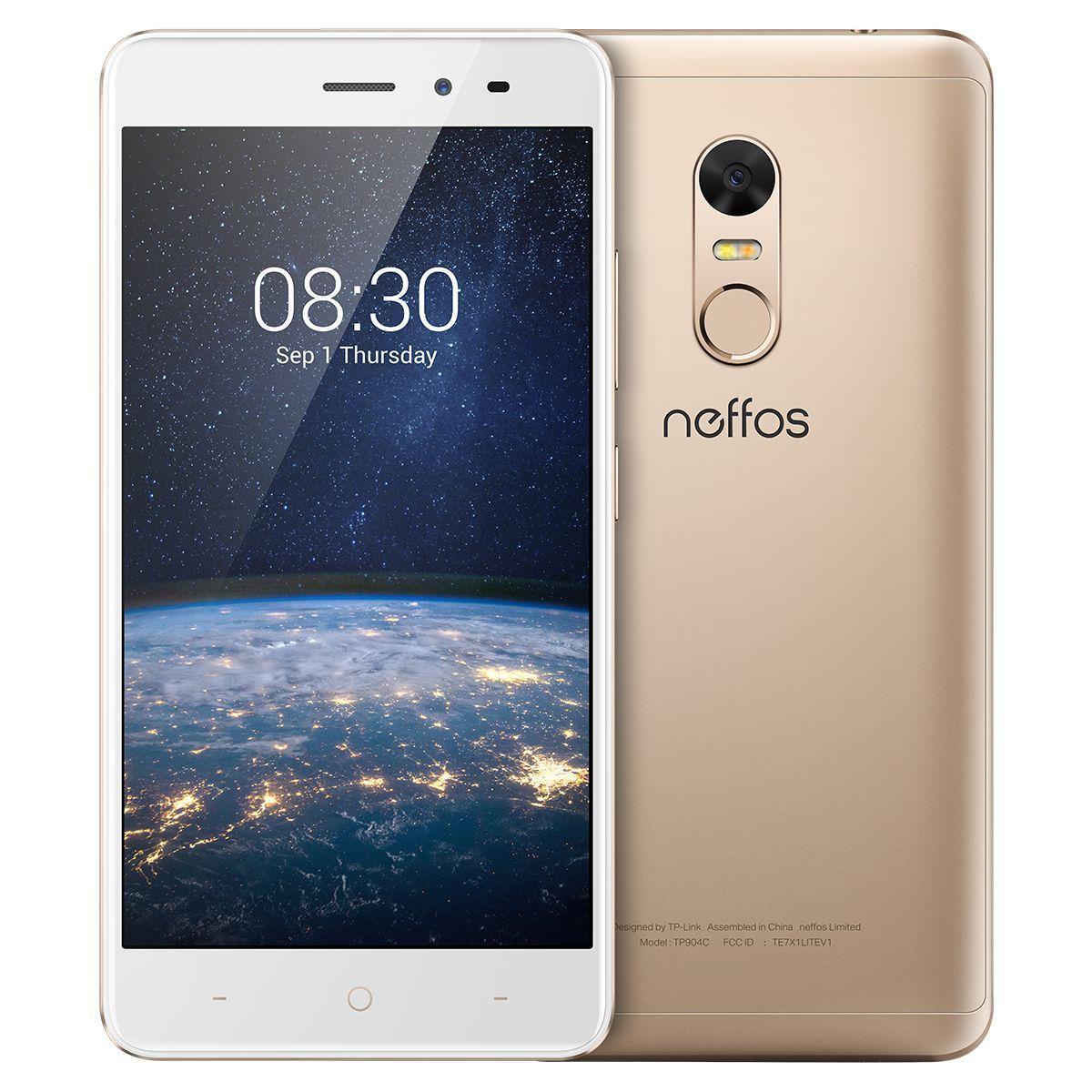 Téléphone mobile --- N/A --- Smartphone NEFFOS X1 Lite Gold