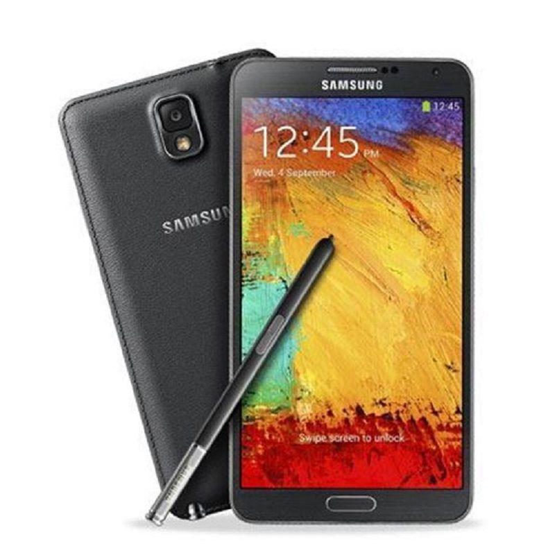 Téléphone mobile Samsung Samsung Galaxy Note 3 SM-N9005 débloqué 4G SmartPhone Quad-core 2.3 GHz Krait 400-N9005 3GO+16GO téléphone portable noir
