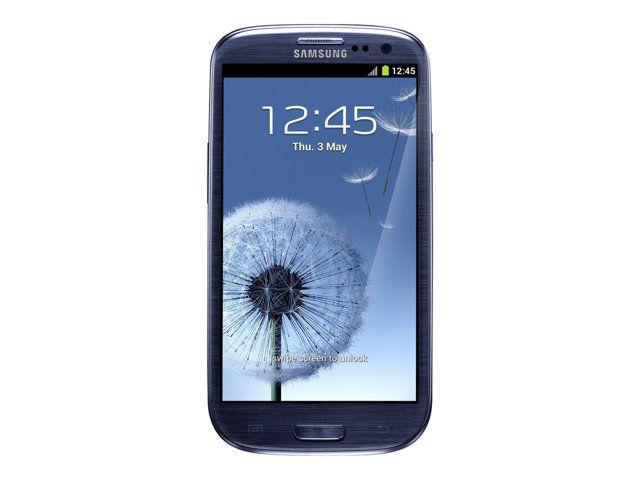 Téléphone mobile Samsung Samsung Galaxy S III 16 Go Bleu galet