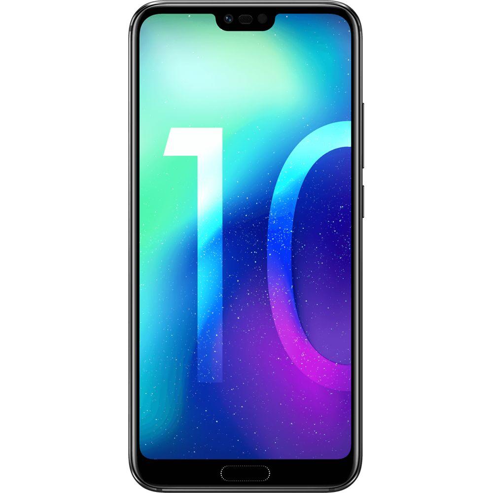 Téléphone mobile Honor 10 - 128 Go - Noir