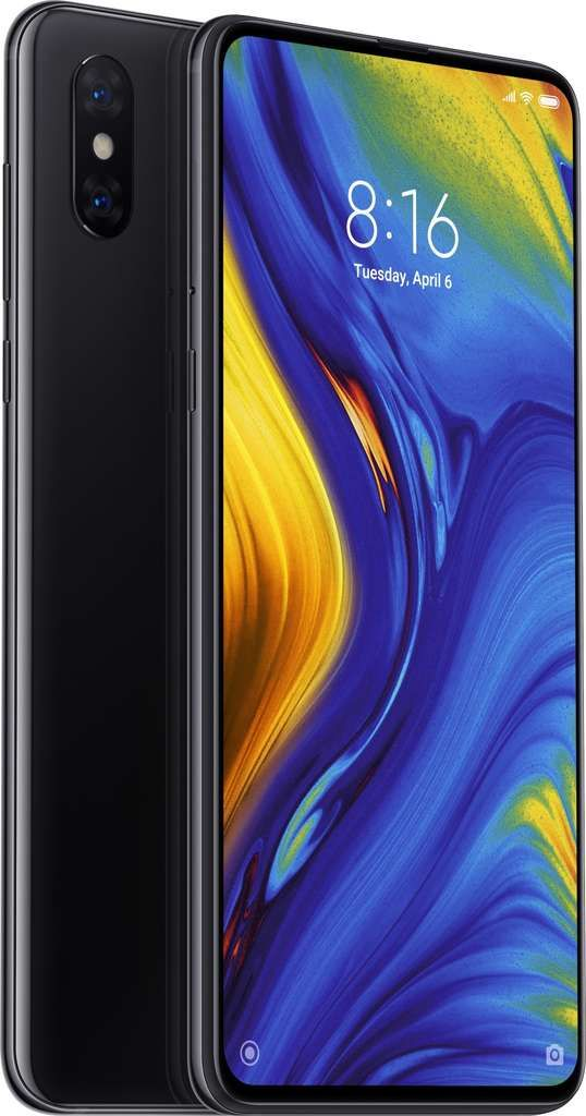 Téléphone mobile Xiaomi Xiaomi Mi Mix 3 Double SIM 128 Go / 6 Go Noir Onyx (Global Version)