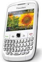 Téléphone mobile Research In Motion BlackBerry Curve 8520 Blanc